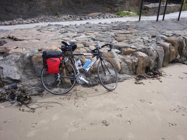 Dolan Preffisio on the Beach at Rossnowlagh