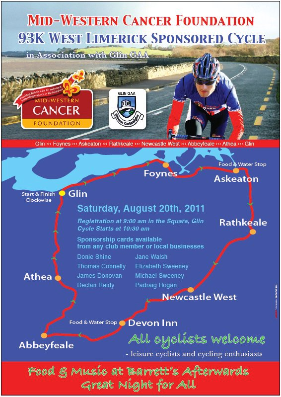 Glin Charity Cycle