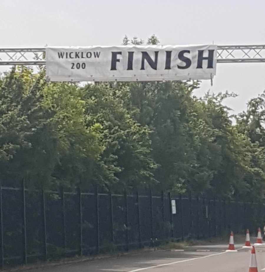 Wicklow 100 Finish Line